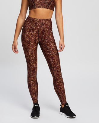 Running Bare Fight Club Full-Length Tights