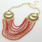 Apt. 9® Gold-Tone Beaded Multistrand Necklace