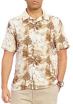 Daniel Cremieux Sonoran Trails Palm Tree Printed Short-Sleeve Woven Shirt