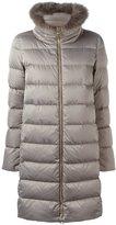 Herno padded coat - women - Fox Fur/Polyamide/Polyester/Goose Down - 46