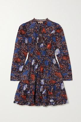 Ulla Johnson Ismaya Ruffled Printed Cotton Dress