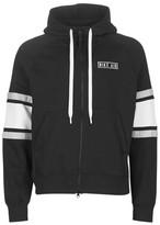 Nike M NSW NIKE AIR HOODIE FZ FLC men's Sweatshirt in Black