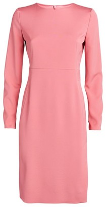 Akris Silk Sheath Dress