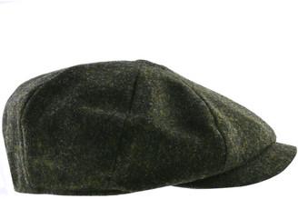 Barbour Thorne Bakerboy Hat Green
