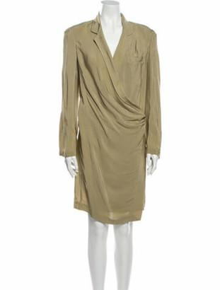 Donna Karan Silk Mini Dress w/ Tags