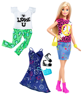 Barbie Fashionistas Peace and Love Doll
