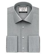 Thomas Pink Oscar Plain Classic Fit Double Cuff Shirt