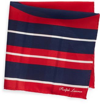 Ralph Lauren Art Deco Silk Pocket Square