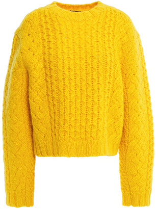 R 13 Cable-knit Wool Sweater