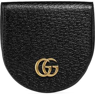 Gucci GG Marmont Leather Coin Case