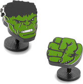 Marvel Black Hulk Comics Pair Cufflinks