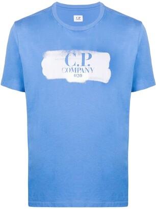 C.P. Company logo-print crew neck T-shirt