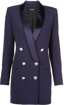 Balmain Structured Blazer Dress