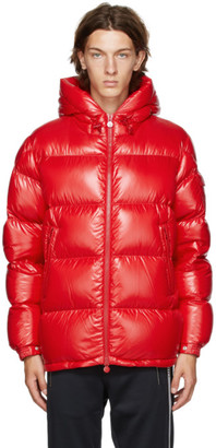 Moncler Red Down Ecrins Jacket