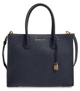 MICHAEL Michael Kors 'Large Mercer' Tote - Blue