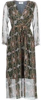 Betty London LILIE-ROSE women's Long Dress in Green