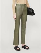 Joseph Coleman leather trousers
