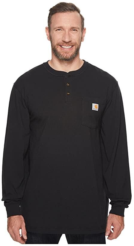 Carhartt Big Tall Workwear Pocket L/S Henley