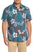 Tommy Bahama Men's Big & Tall Marjorelle Blooms Silk Woven Shirt