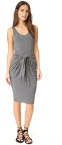 L'Agence Ivy Tie Front Dress