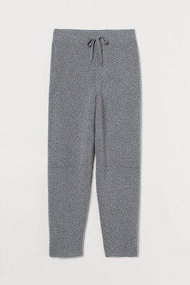H&M Fine-knit wool trousers