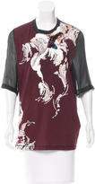 3.1 Phillip Lim Sequined Abstract Top
