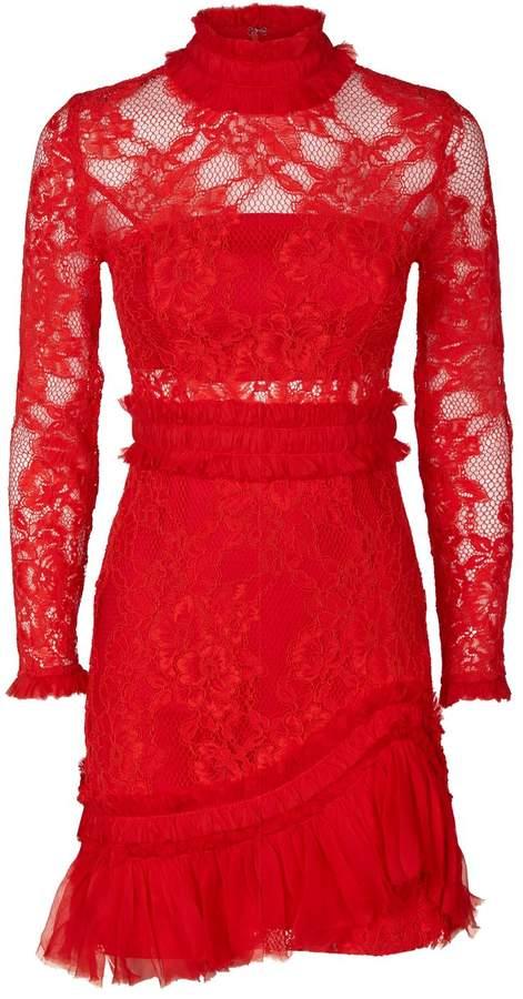 Alexis Wilhemina Sheer Lace Dress