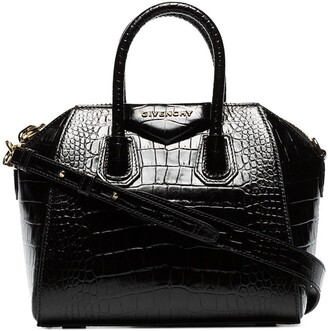 Givenchy mini Antigona croc-effect tote bag