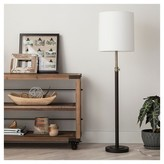 Threshold Davis Adjustable Column Floor Lamp - Ebony 65.5