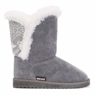 Muk Luks Women's Carey Boots - Grey