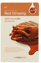 The Face Shop Real Nature Mask - Red Ginseng (Highly Nourishing & Energizing)