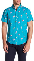 Bonobos Riviera Short Sleeve Print Slim Fit Shirt