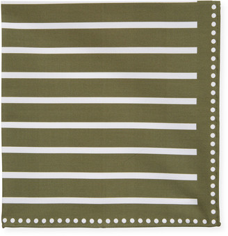 Brunello Cucinelli Men's Bold Stripes Pocket Square