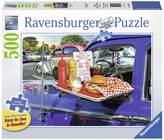 Ravensburger Drive-Thru Route 66 Puzzle - 500 Pieces