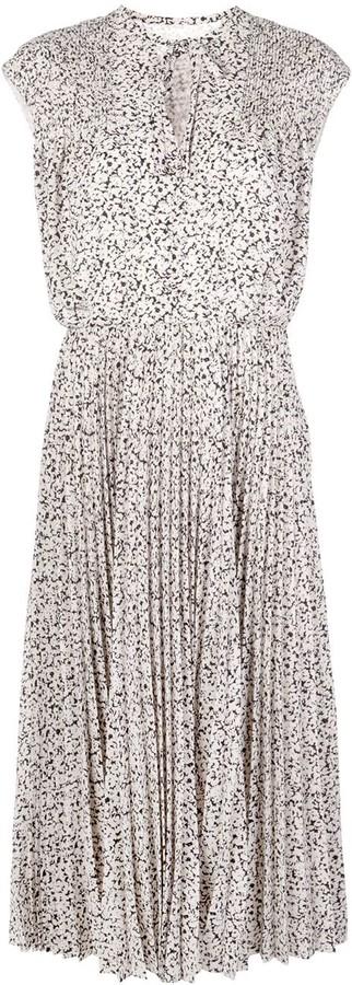 Jason Wu Sleeveless Pleated Midi Dress