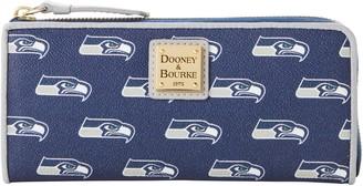Dooney & Bourke NFL Seahawks Zip Clutch