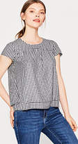Esprit Flared blouse top in viscose