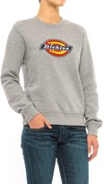 Dickies Crew Neck Fleece Sweatshirt (For Women)