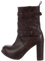 Henry Beguelin Distressed Ankle Boots