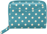 Cath Kidston Little Spot Zipped Purse with Mirror