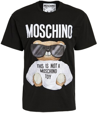 Moschino Large Embroidered Bear T-Shirt