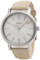 Timex Style Weekender Originals Modern Watch - 38mm, Leather Strap (For Women)