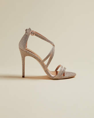 Ted Baker ORALIS Lurex strappy sandals