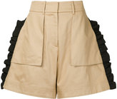 Public School Mousa ruffle shorts
