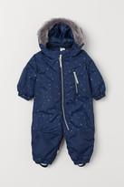 H&M Water-repellent Snowsuit - Blue