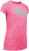 Under Armour Big-Logo Abstract-Print T-Shirt, Big Girls (7-16)