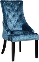Chic Home Set Of 2 Raizel Teal Dining Chairs