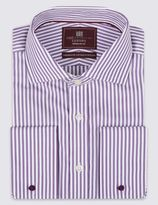 Marks and Spencer Pure Cotton Bengal Striped Shirt
