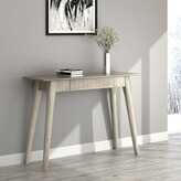 Spurlock Solid Wood Console Table Millwood Pines Color: Light Gray
