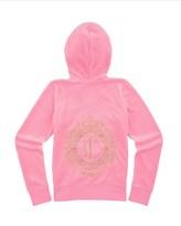 Juicy Couture Girls Logo Velour Marrakech Cameo Original Jacket